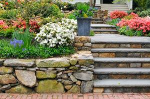 pierre naturelle utilisée pour sa terrasse